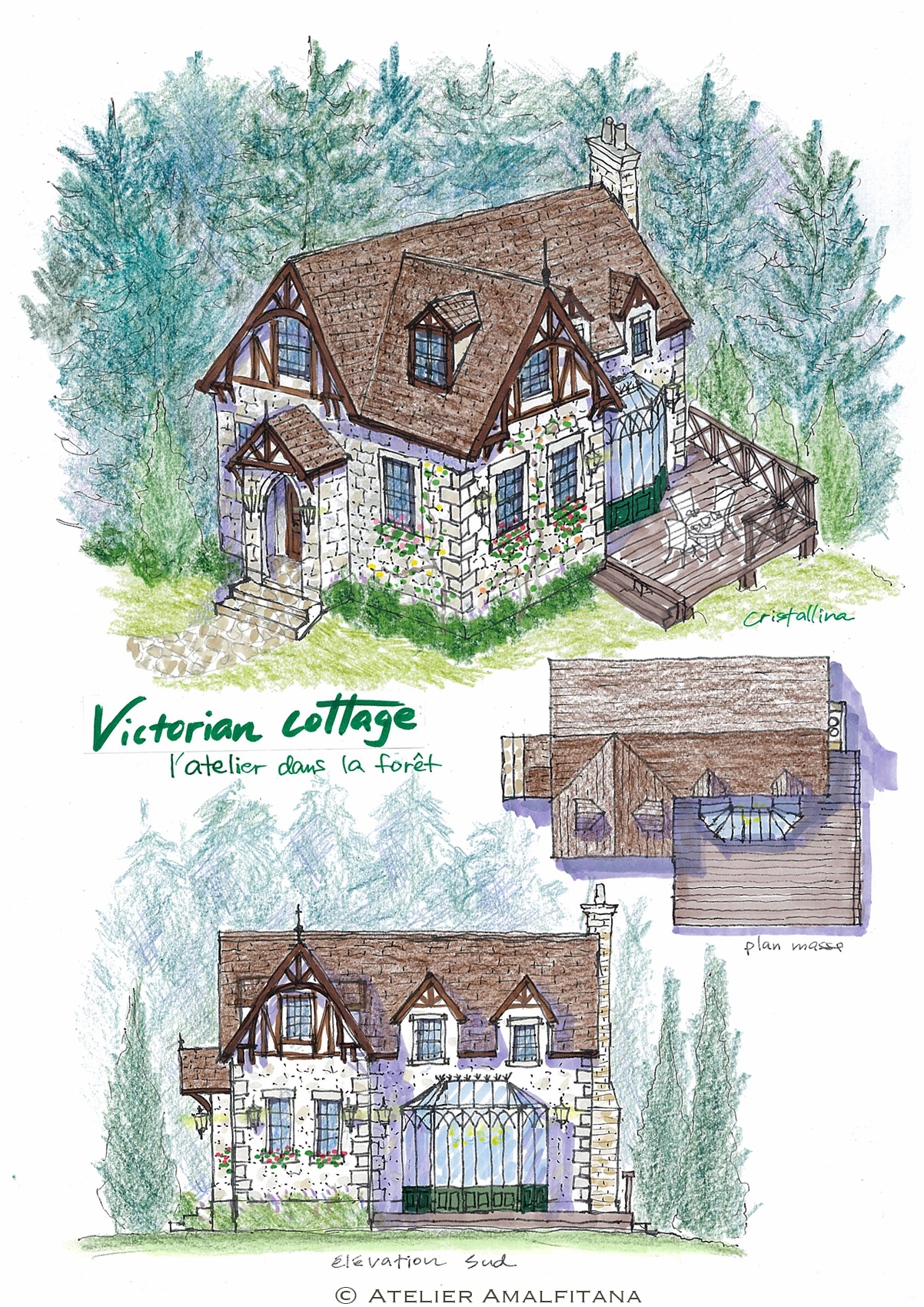 victorian forest house