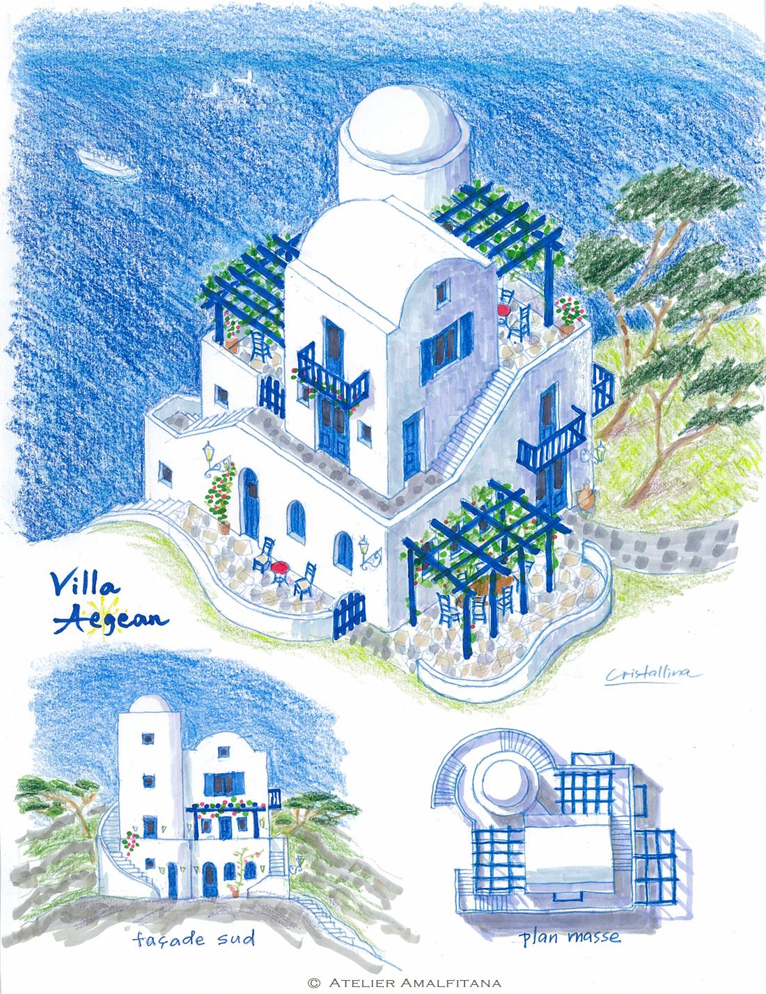 aegean islands villa
